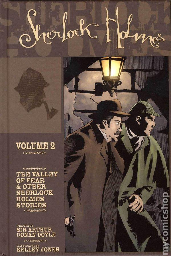 Sherlock Holmes Hc 2009 Idw Novel Comic Books