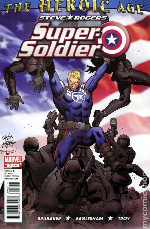 STEVE ROGERS SUPER SOLDIER #1-4 NEAR MINT COMPLETE SET 2010