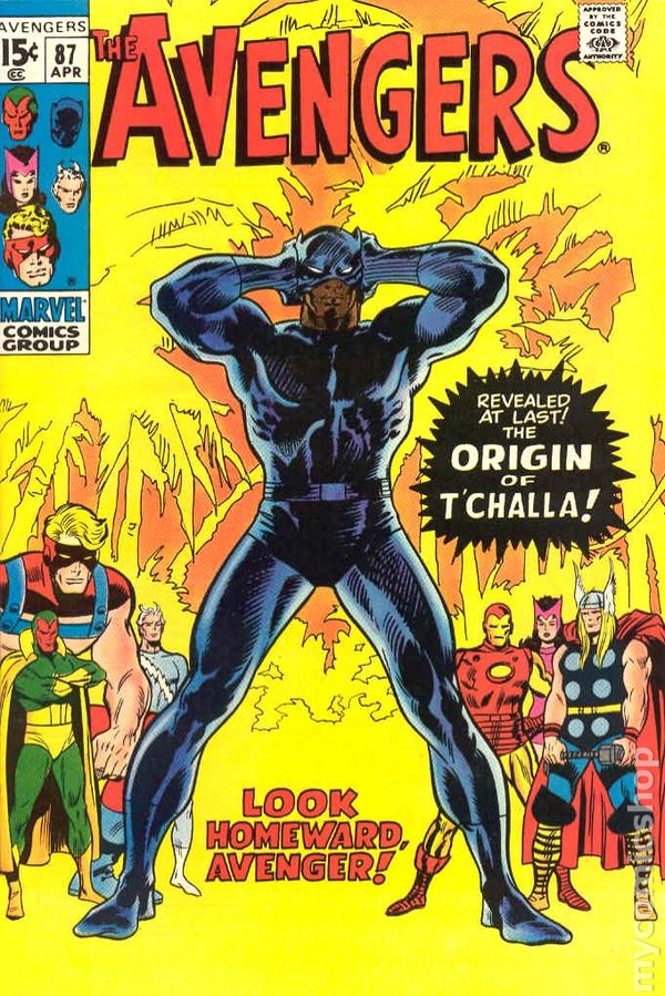 Avengers 1963 1st Series National Diamond 87NDS