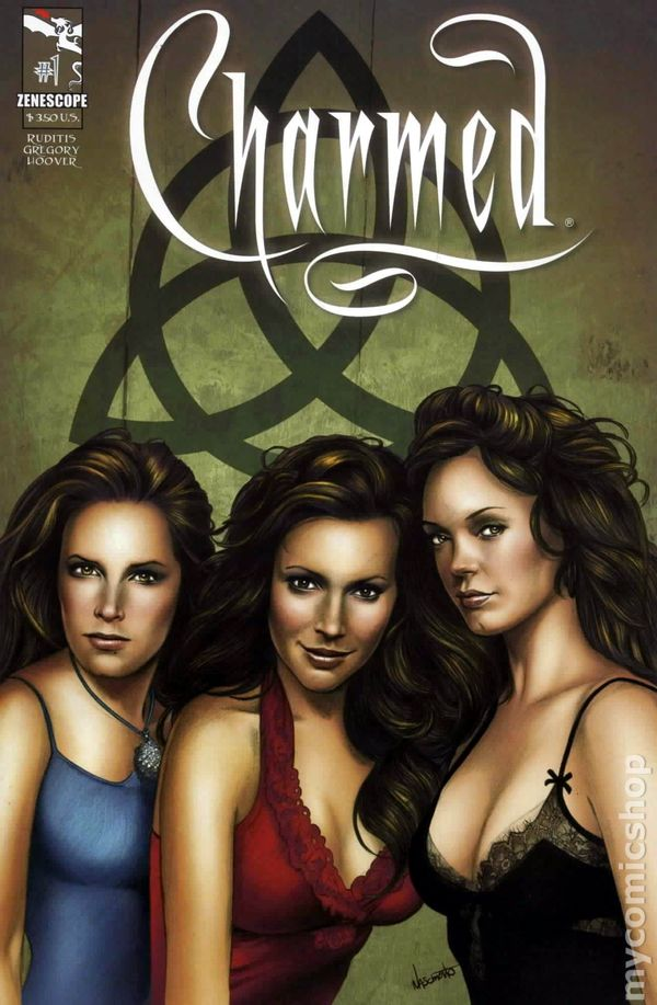 Charmed #6 Zenescope comic 6A cover