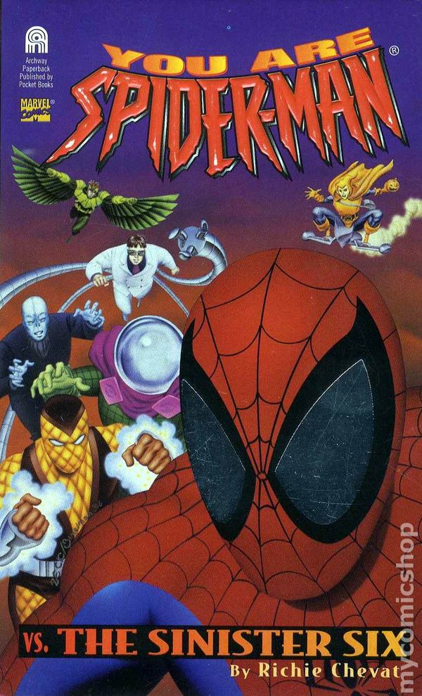 You Are Spider Man Vs The Sinister Six Pb 1996 Comic Books