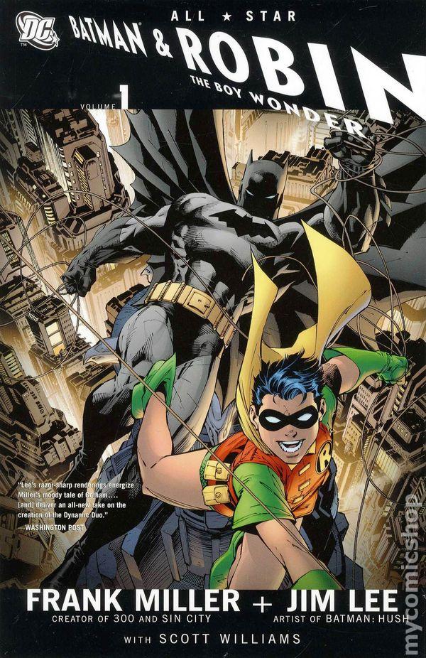 1124fc2a633e All Star Batman and Robin the Boy Wonder TPB (2009 DC) 1-REP