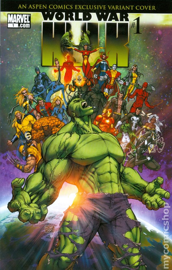 World War Hulk 2007 Comic Books