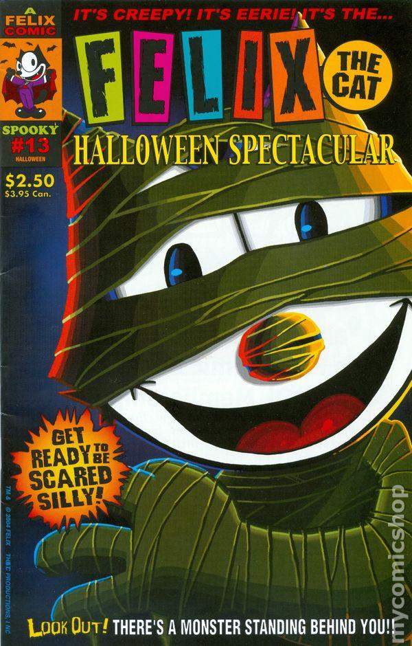 felix the cat halloween spectacular 2004 comic books