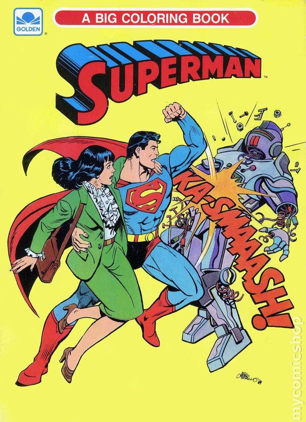 Superman SC (1989 A Big Coloring Book) comic books