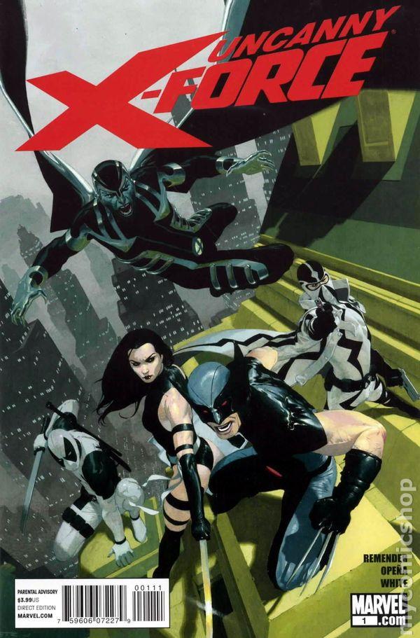 MARVEL NOW UNCANNY X-FORCE #8 NM-