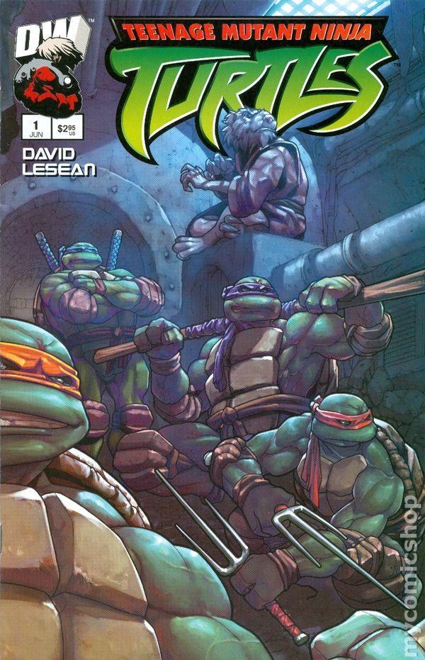 Teenage Mutant Ninja Turtles 2003 Dreamwave Comic Books