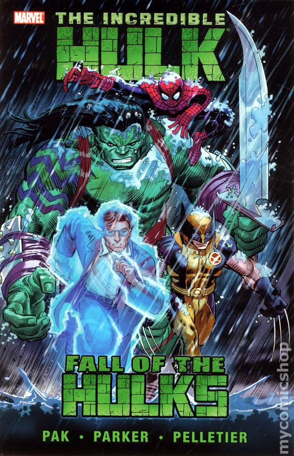 Comic books in spider man incredible hulk tpb 2010 2011 3rd series collections by greg pak 2 fandeluxe Image collections
