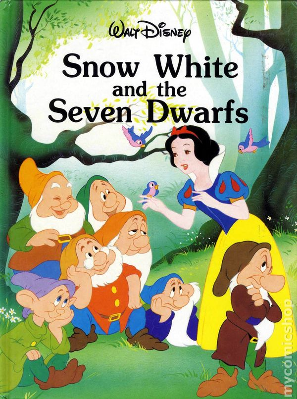 Snow White Book Cover : Snow white and the seven dwarfs hc disney storybook