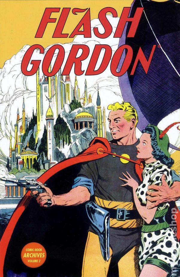 Resultado de imagen de flash gordon comic