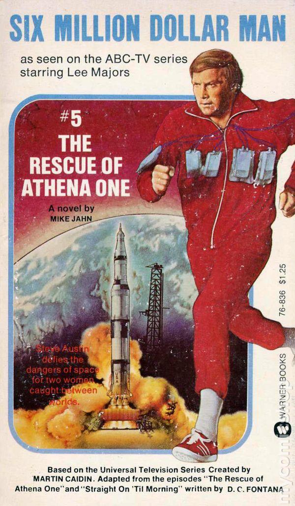 Six Million Dollar Man Pb 1975 1976 Tv Series Novel Comic Books