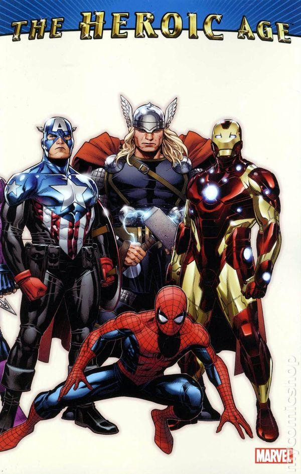 heroic age tpb 2010 marvel comic books