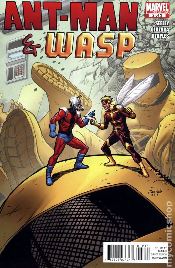 Ant-Man and Wasp #2 2011 FN Stock Image Marvel