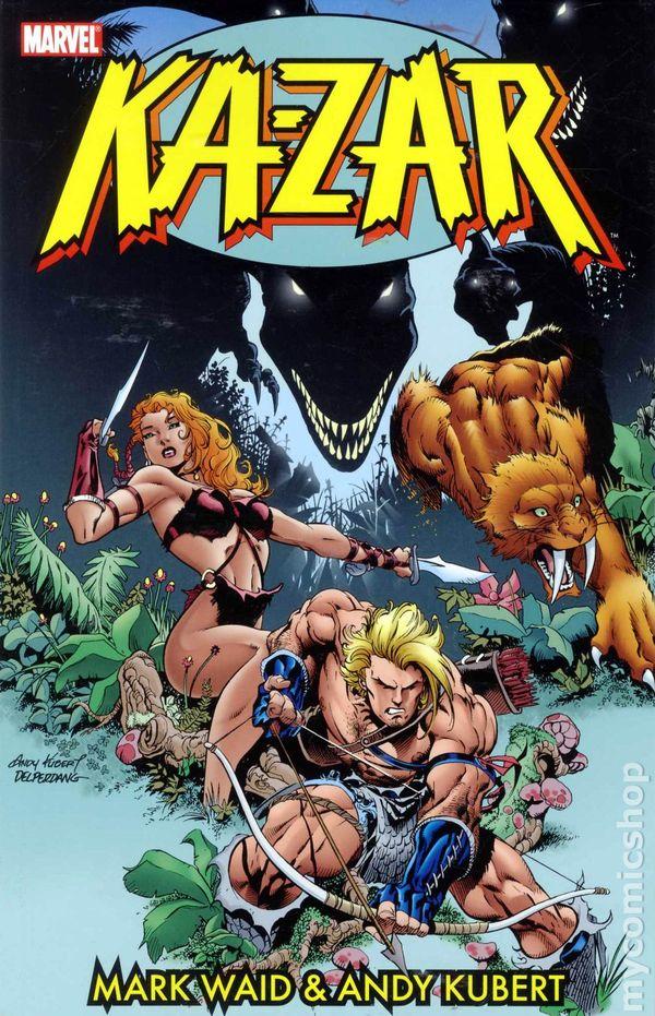 Ka Zar Marvel 96