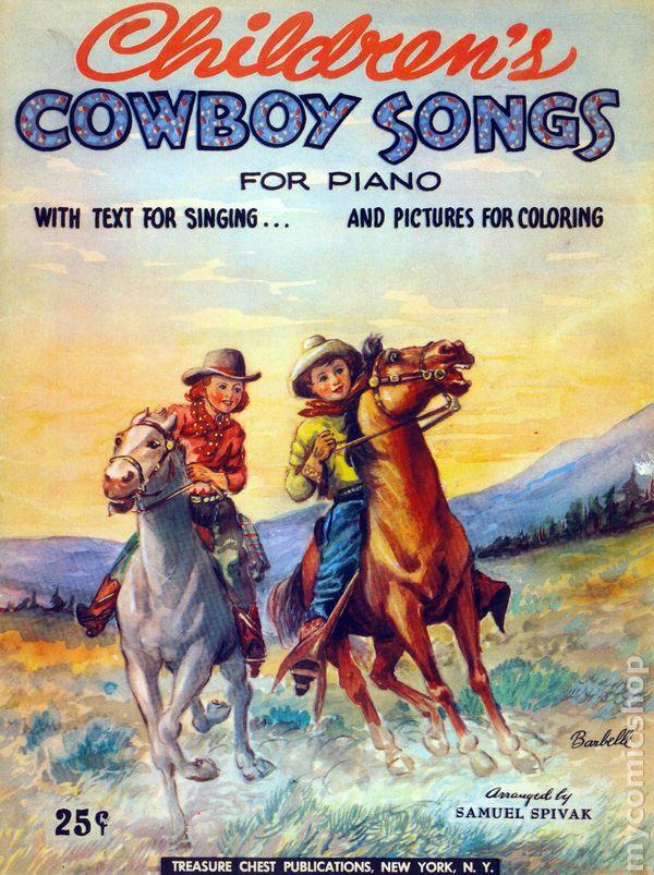 childrens cowboy songs  comic books