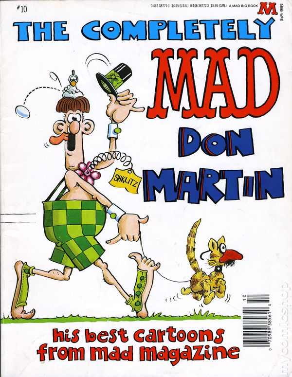 Completely Mad Don Martin TPB (1974 Warner Books) A MAD Big Book ...