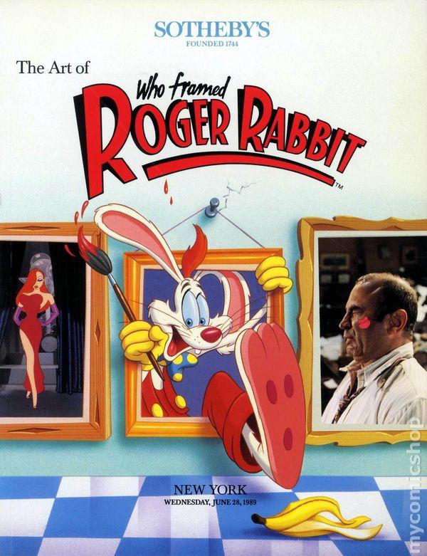 art of who framed roger rabbit sc 1989 sothebys comic books - Who Framed Roger Rabbit Movie
