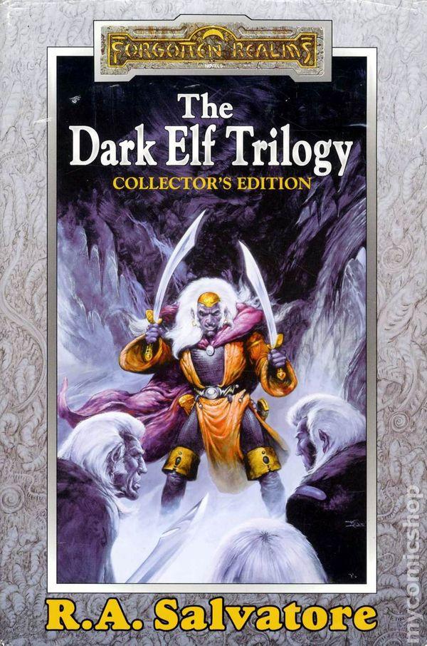 Forgotten Realms The Dark Elf Trilogy HC (1998 Novel) Collector's