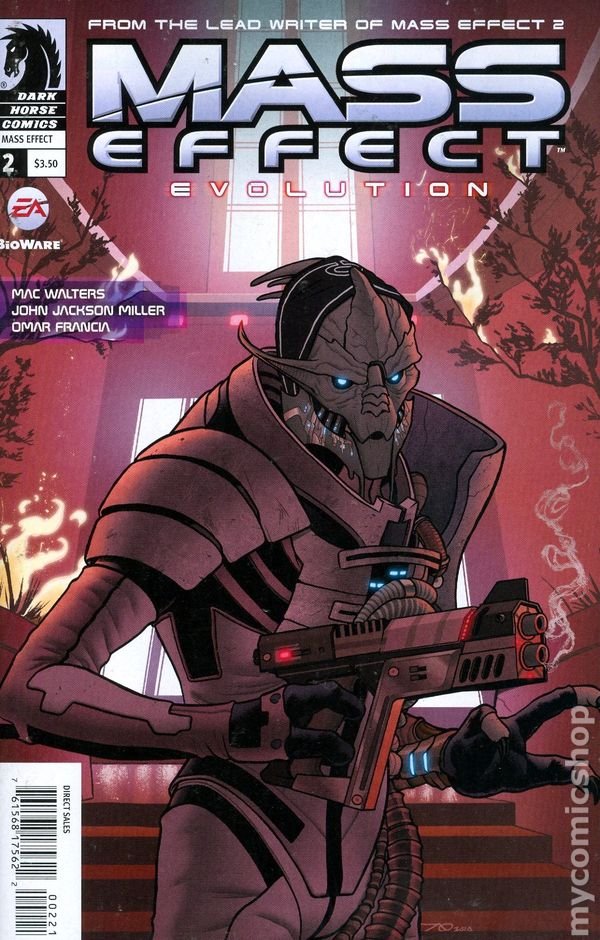 Mass Effect Foundation TPB #3-1ST NM 2014 Stock Image
