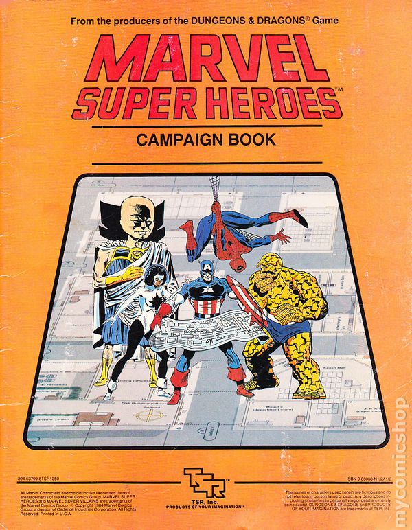 Marvel Roleplaying Megathread: With Incredible (40) Power