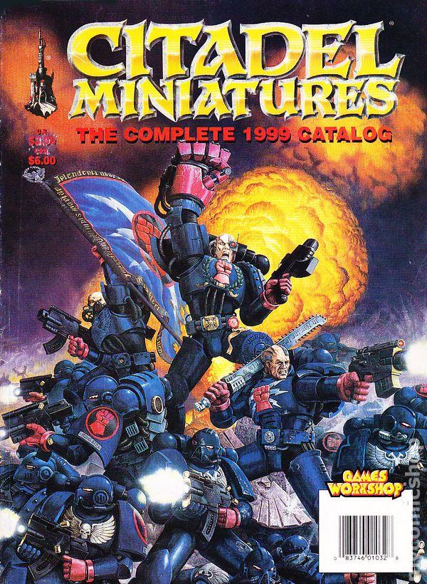 Games Workshop Citadel Miniatures Complete Catalog 1998