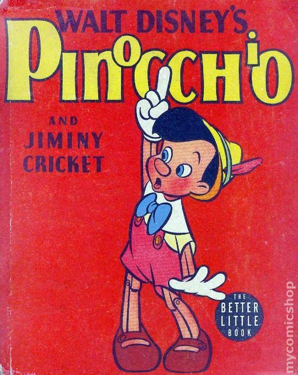 Pinocchio Comic Book