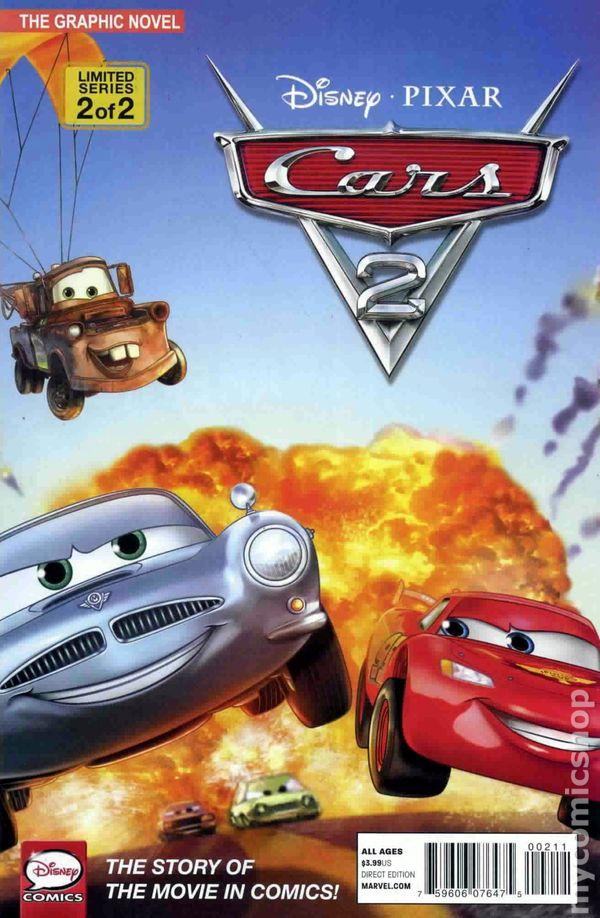 Cars 2 2011 Marvel Disney Comic Books
