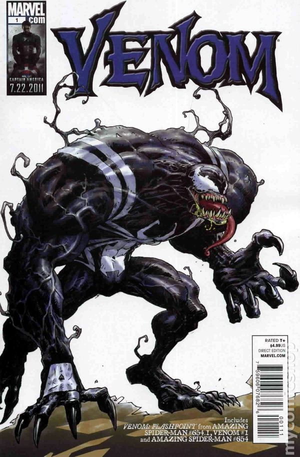 Book Cover Art Database : Venom marvel flashpoint comic books
