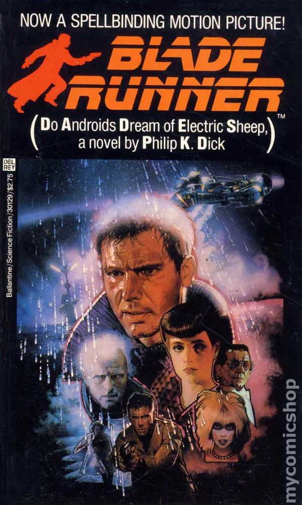 Blade Runner PB (1982 Del Rey Novel) comic books
