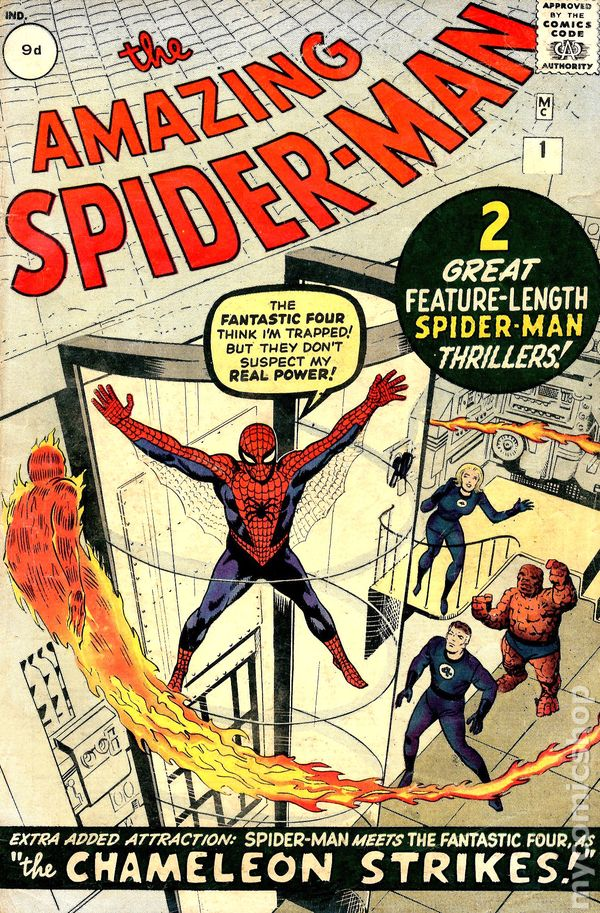 first edition of spider man comic book