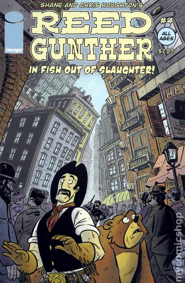 Reed Gunther #5 Comic Book Image