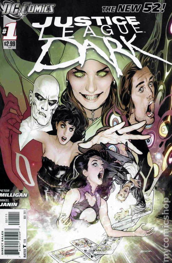 DC, 2012 New 52 Justice League Dark #7 VF//NM