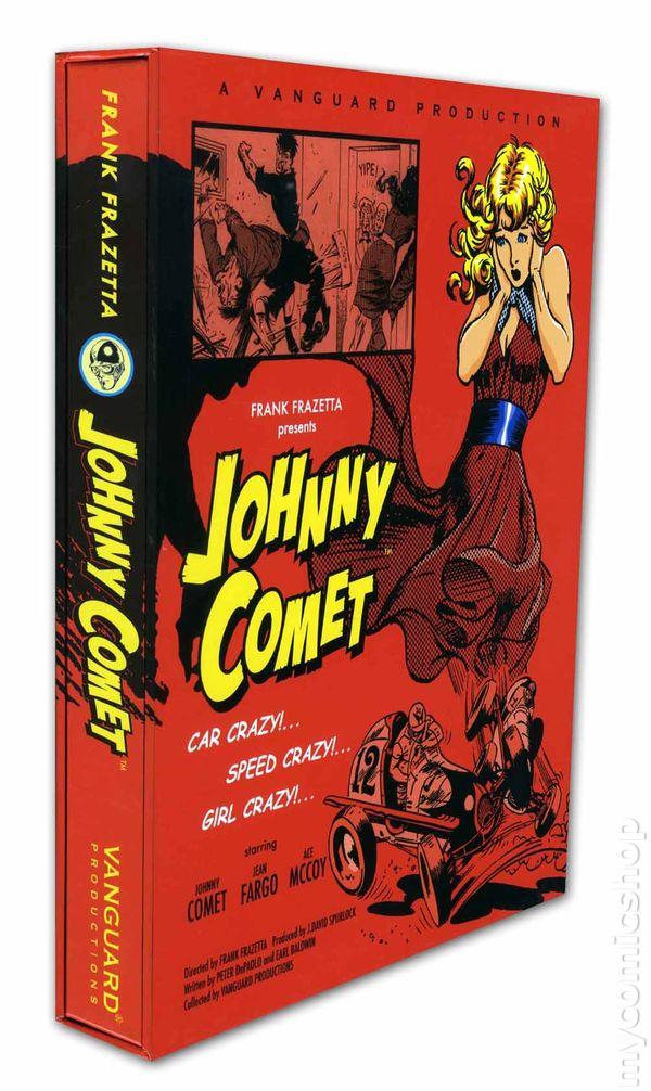 Johnny Comet HC (2011 Vanguard Frazetta Classics) comic books