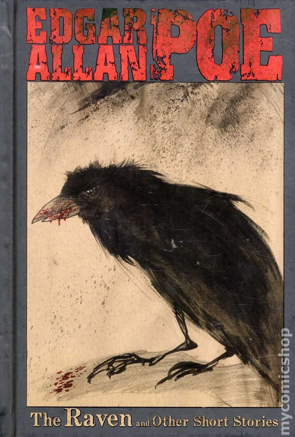 Très Edgar Allan Poe The Raven and Other Stories HC (2011 IDW) comic books IS34