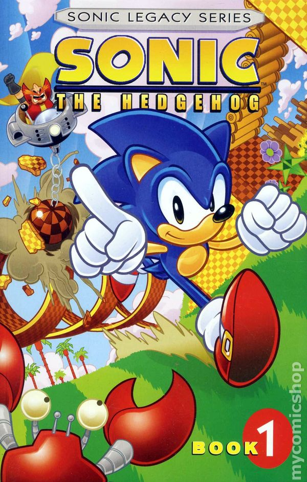 Sonic The Hedgehog Tpb 2011 Archie Sonic Legacy Series Comic Books