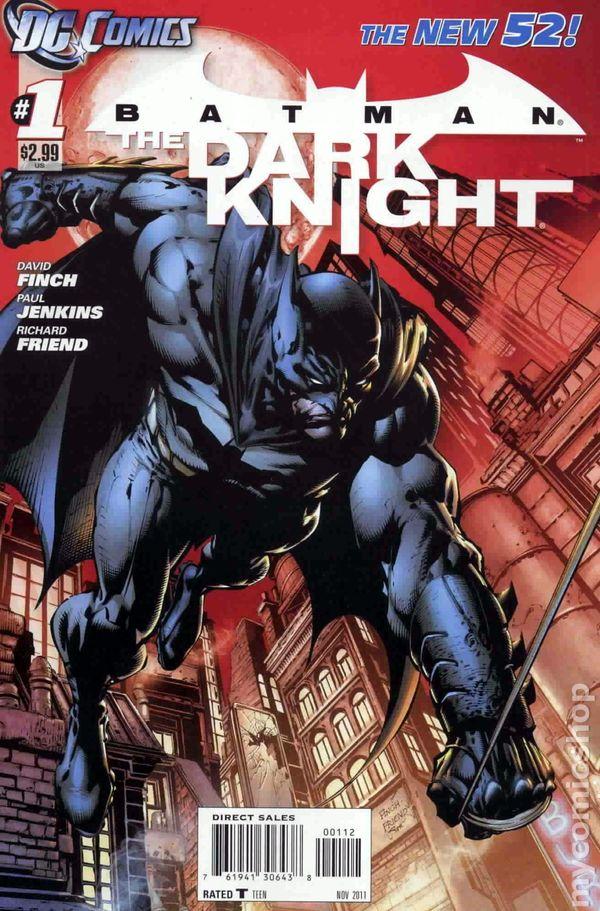 Batman The Dark Knight #15A VF 2013 Stock Image