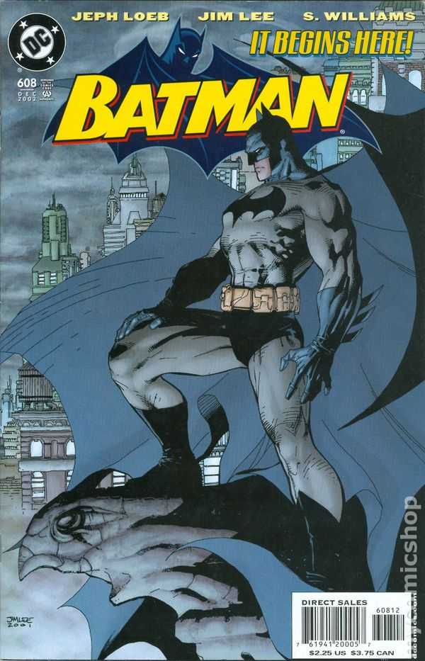 Comic Books In Batman Hush