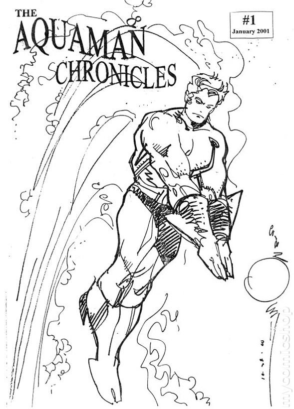 aquaman symbol coloring pages - photo#39