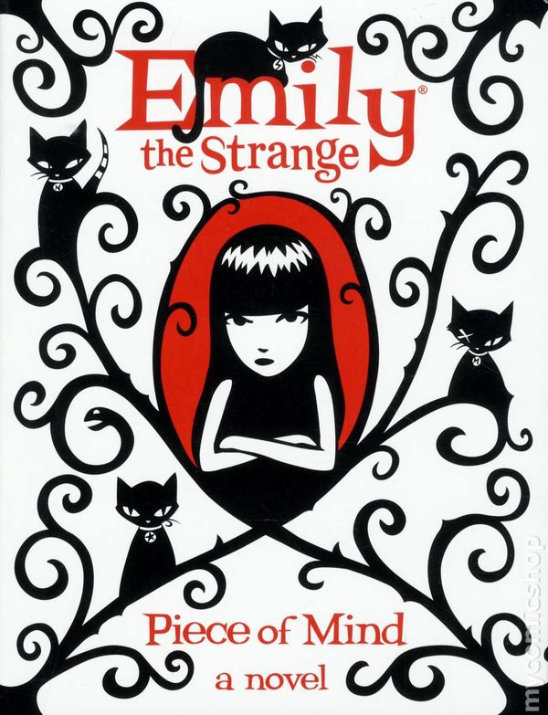 95807ab934 Emily the Strange HC (2009-2011 Novel) 4-1ST