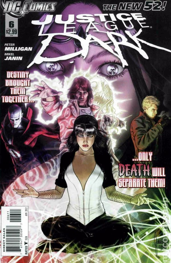 Justice League Dark 2011 Comic Books