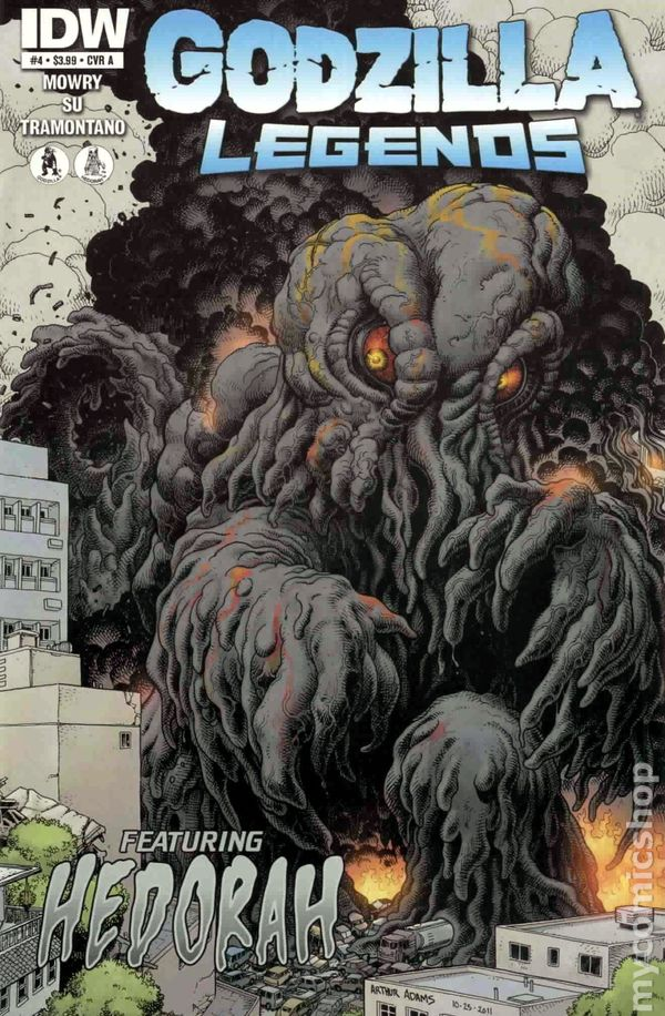 Godzilla Legends (2011 IDW) comic books