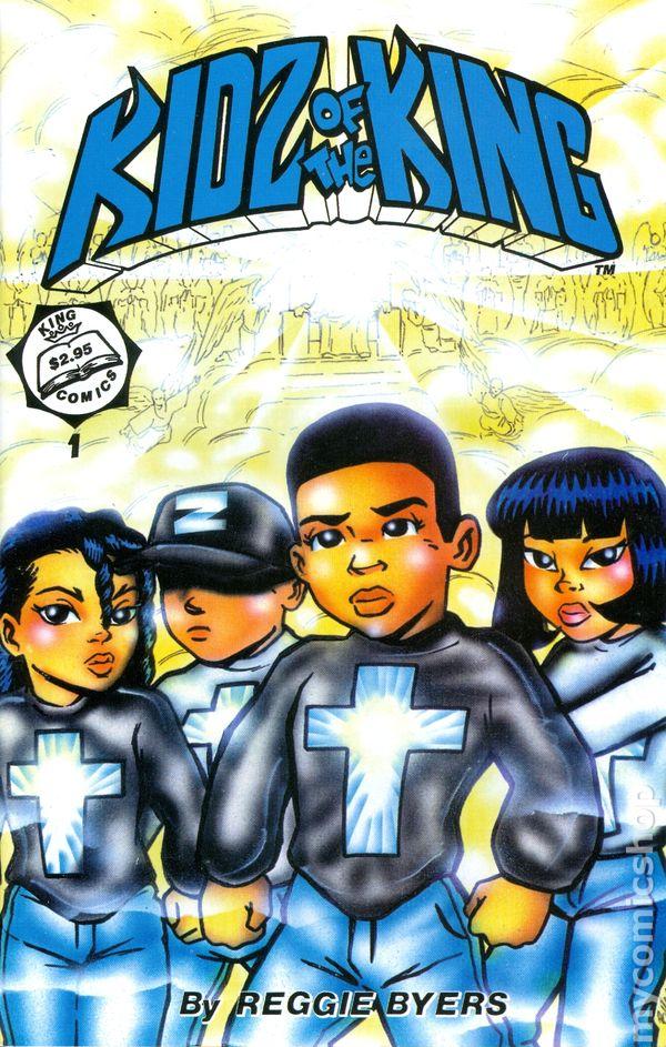 kidz of the king  1994  comic books