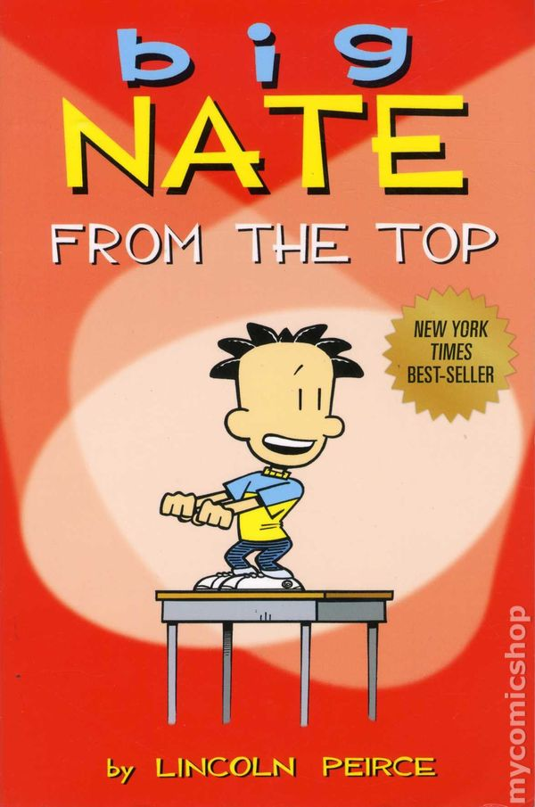 Big Nate From The The Top Tpb 2010 Andrews Mcmeel Comic