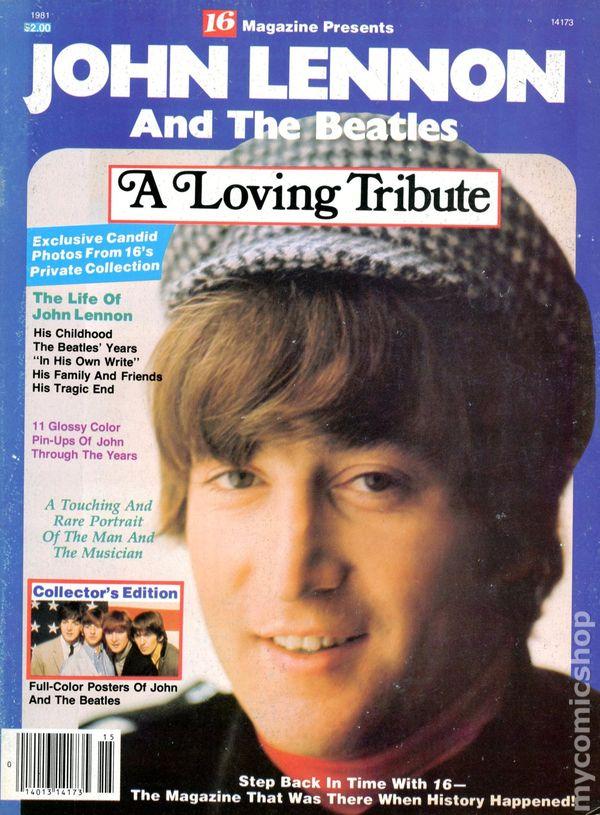 John Lennon And The Beatles 1981 16 Magazine Comic Books