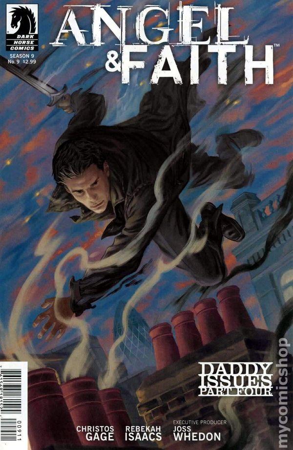Angel /& Faith Season 9 #24 Cover B Dark Horse Comics 2011 VF