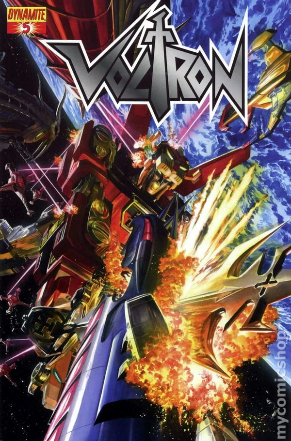 Voltron #6A NM 2012 Stock Image