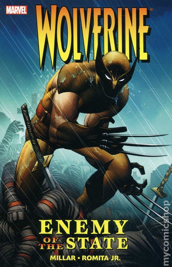 comic books in wolverine enemy of the state