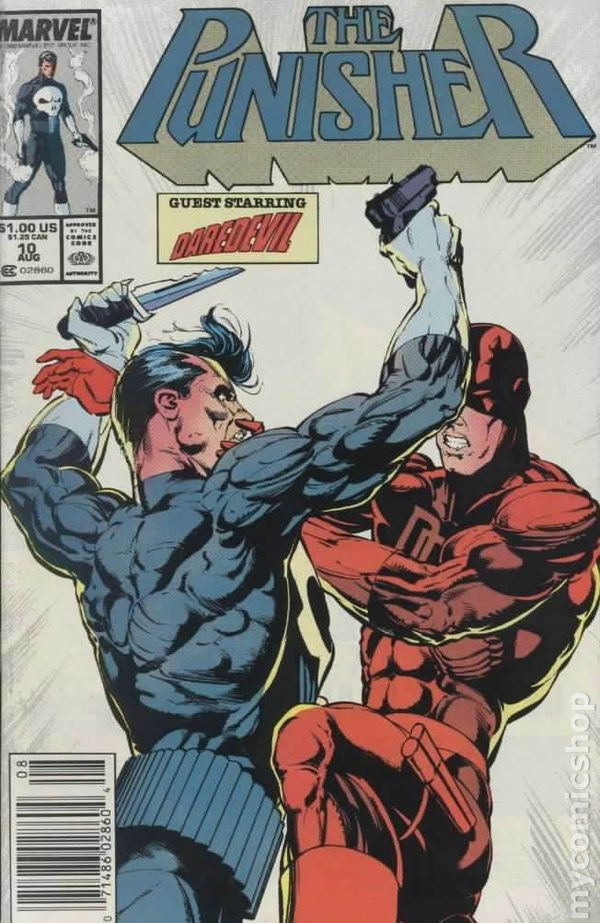 Punisher Comic Book
