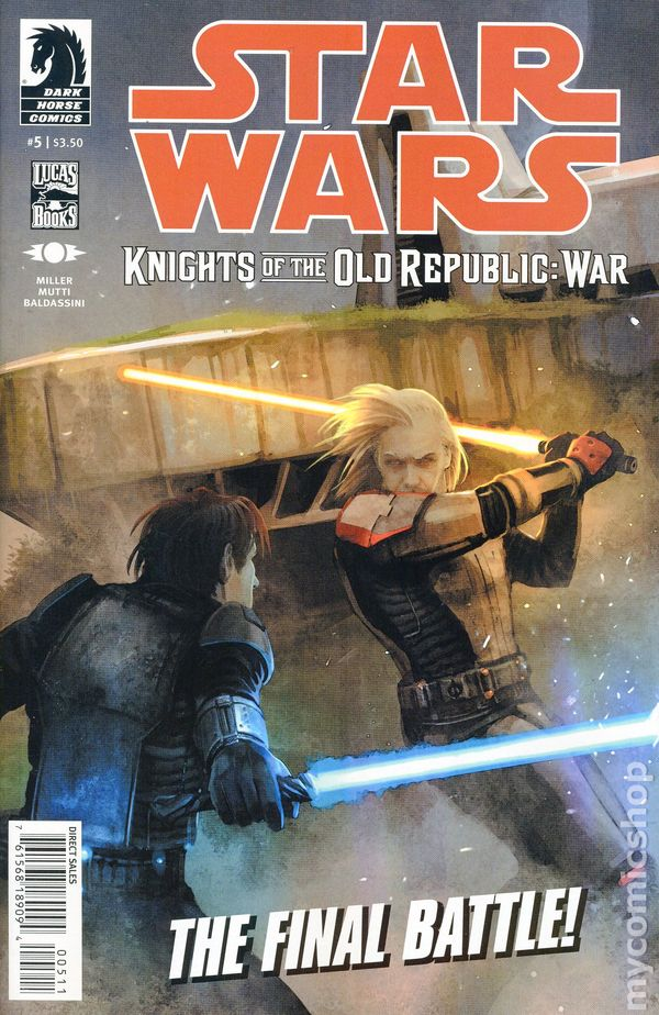 Star Wars Knights Of The Old Republic War 2012 Comic Books