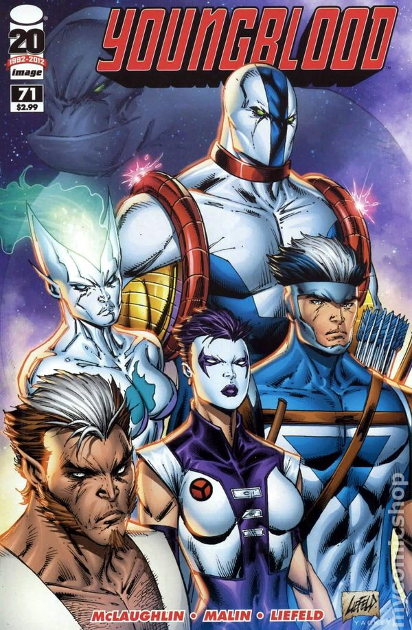 Youngblood (2012 5th Series Image) comic books